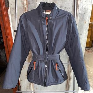 Burberry Dark Navy Black Ski Down Puffer Jacket